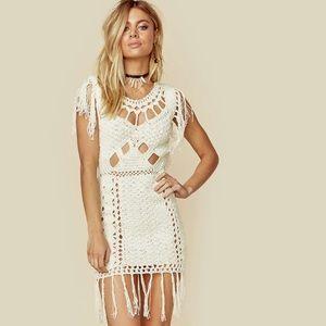 Cleobella Aimee Dress White Medium